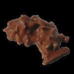 GRANIT LAIT : Bâtonnets d'amandes enrobés de chocolat au lait