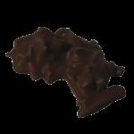 GRANIT NOIR : Bâtonnets d'amandes enrobés de chocolat noir