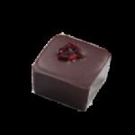 CRANBERRIES : Ganache au cranberry enrobée de chocolat noir