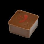 FRAMBOISE : Ganache à la framboise enrobée de chocolat au lait
