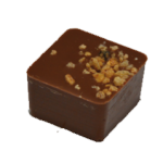 GIANDUJA : Gianduja noisette enrobée de chocolat au lait