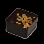 GIANDUJA : Gianduja noisette enrobée de chocolat noir