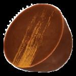 Ganache citron enrobé de chocolat au lait