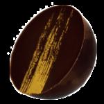 Ganache citron enrobé de chocolat noir