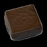 Ganache au chocolat noir avec 80% de cacao